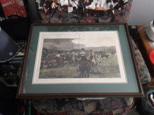 "Print,Framed,29""x22"" for Sale in Detroit, MI"