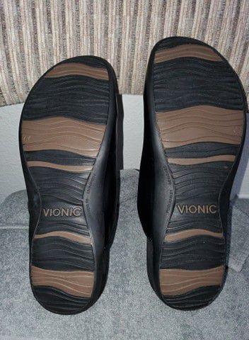 Vionic Women's Rest Joan Mule Black 11M US [AMAZON RETURNS]