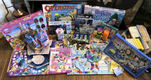 Kids Fun Pack: Board Games, Puzzles, Etc. for Sale in Spring Hill, FL