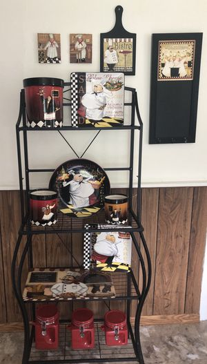 """""""Fat Chef"""" Kitchen Decor for Sale in Southington, CT"""