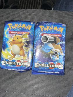 Pokémon XY Evolutions TCG Booster Packs for Sale in Sunnyvale,  CA
