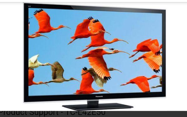 "Panasonic Viera LCD 42"" TV"