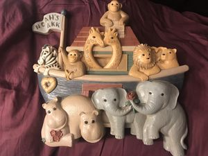 Home interiors Noah's ark wall hanging decor for Sale in Fresno, CA
