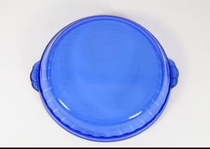 Vintage Cobalt Blue Pyrex Pie Dish for Sale in Jamestown, NC
