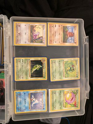 FIRST EDITION POKEMON LOT 1999 for Sale in Nashville, TN