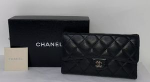 CHANEL QUILTED WALLET for Sale in Corona, CA