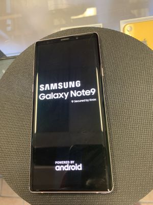 Samsung Galaxy Note 9 Carrier Unlocked for Sale in Corpus Christi, TX
