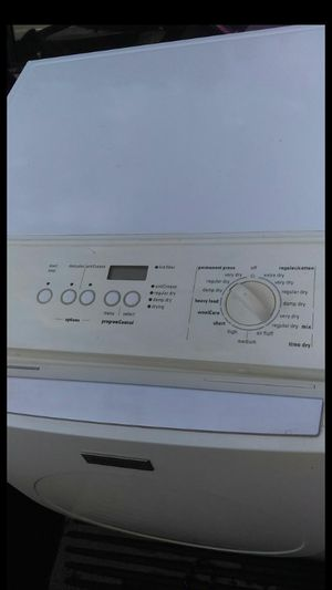 Siemens ultra sense washer and dryer set both work great for Sale in Rancho Cucamonga, CA
