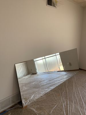 """Wall mirror 8ft 6 & 1/2"""" by 3ft 2in. for Sale in Norco, CA"""