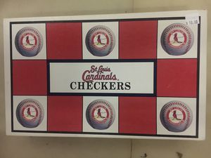 St. Louis Cardinals vs. Chicago Cubs Checkers for Sale in St. Peters, MO