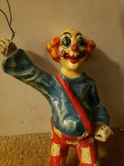 Vintage Paper Mache Clown for Sale in Grafton,  WV