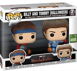 Funko Pop Billy And Tommy Halloween ECCC21 Exclusive Wandavison for Sale in New York,  NY