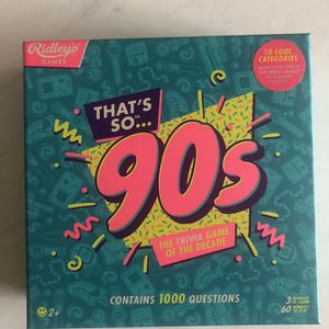 That's So 90s Board Game for Sale in San Diego, CA