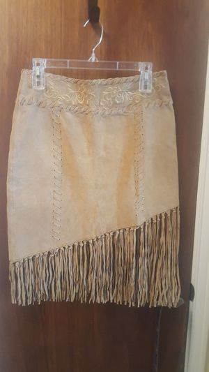 Size 5 - 100% Suede Leather Mini Skirt for Sale in Bedford, TX