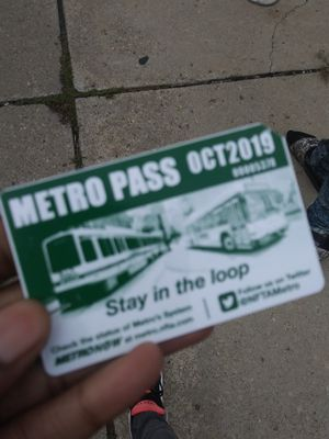 October bus pass for Sale in West Seneca, NY