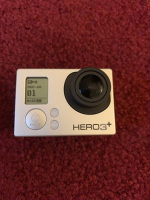 GoPro - Hero3+ - Mint Condition - W/BacPak LED Screen and tons of accessories for Sale in Cleveland, OH