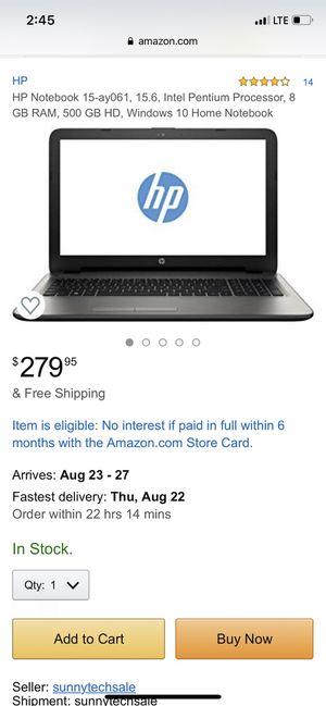 HP notebook for Sale in Philadelphia, PA