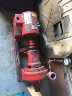 Electric motor with pump and base. for Sale in Erie,  CO