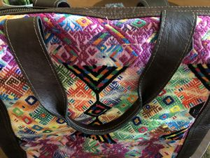 Embroidered Guatemalan Large Tote bag for Sale in Monrovia, CA