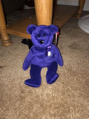 Original princess Diana ty bear for Sale in Bartow, FL
