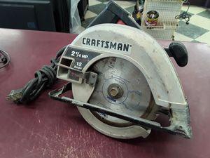 "7-1/4"" circular saw Craftsman 12amp for Sale in Columbus, OH"