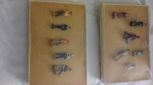 Metal figures. Purchased many years ago to go along with a train set. Never used. Perfect condition. Smoke free home. Kept in boxes for years. for Sale in Lombard, IL