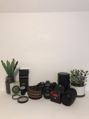 Minolta X-700 Camera With Lenses and Extras for Sale in St. Petersburg, FL