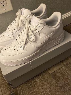 Men's White AF1's Size 10 for Sale in Fresno,  CA