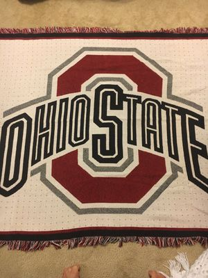 OSU throw blanket for Sale in Westerville, OH