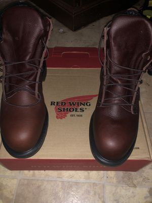 RED WING SIZE 10 1/2 SUPER SOLE 2.0 6 INCHES TALL BRAMD NEW for Sale in Vallejo, CA