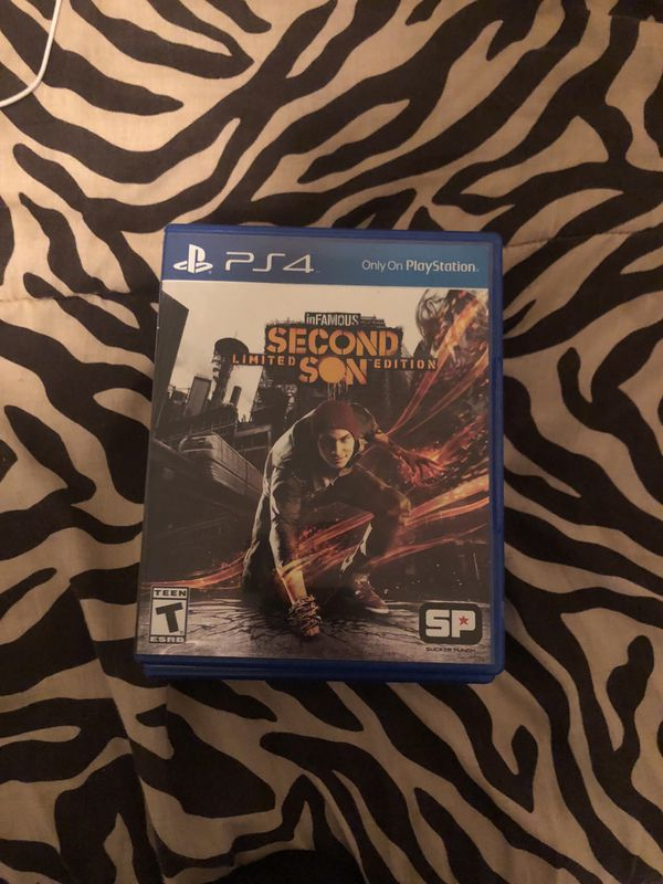 Infamous second son for PS4