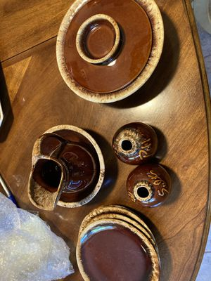 Hull brown drip dishes for Sale in Halifax, PA
