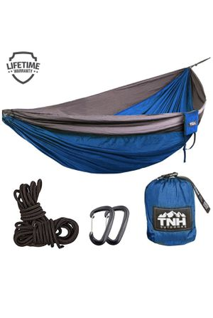 Camping Hammocks - Lightweight Nylon Portable Hammock, Best Parachute Hammock for Backpacking, Camping, Hiking, Beach with Free Heavy for Sale in Stockbridge, GA