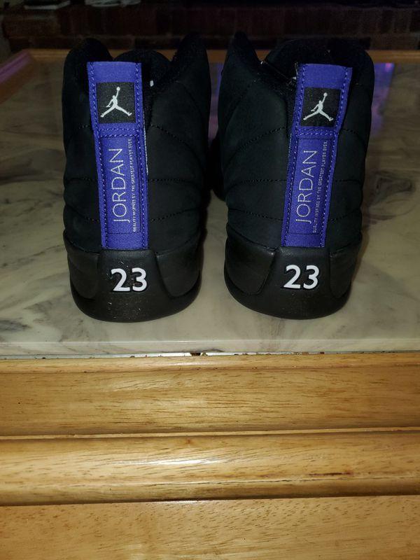 Brand new jordan retro 12 dark concord size 10.5