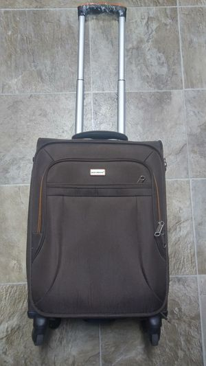 Like New Carry-On Luggage Brown With Orange Lining for Sale in San Leandro, CA