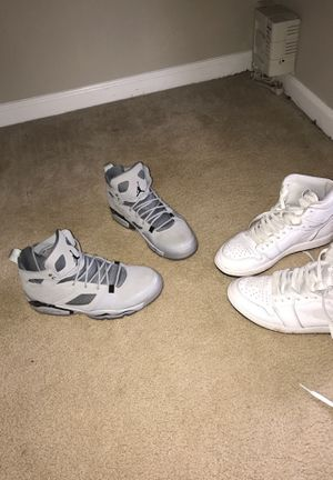 Air jordans for sale 1's and grey pair for Sale in Sterling, VA