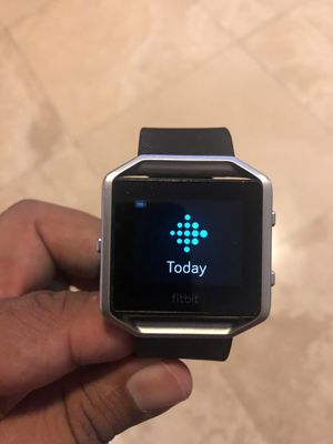 Fitbit Blaze Smart Fitness Watch Black Large for Sale in Miami, FL