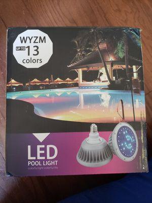 Led pool light for Sale in Spartanburg, SC