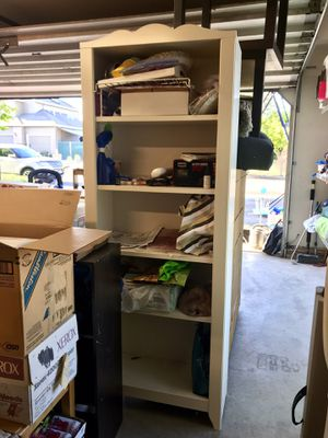 White bookcase for Sale in Fairview, OR