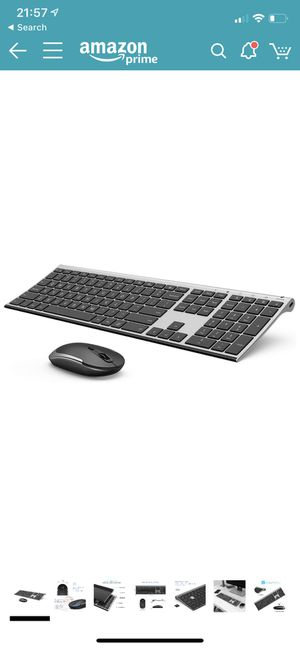 Wireless keyboard and mouse with keyboard cover for Sale in Houston, TX