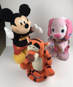 Walking/Talking Disney/Fisher Price Figures for Sale in Greenville, NC