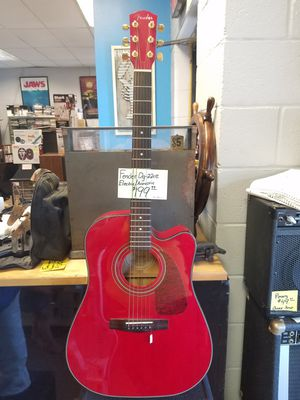 Fender electric acoustic guitar for Sale in Cheshire, CT