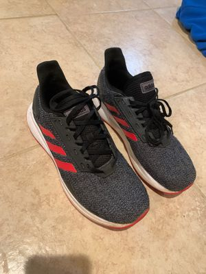 Men's 9 (US) adidas Duramo 9 Shoes - Black for Sale in Davidsonville, MD