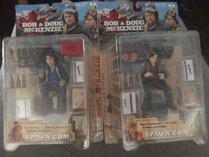 Bob & Doug McKenzie action figures from McFarland Toys for Sale in Phoenix, AZ