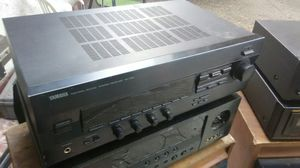 Yamaha home stereo receiver 150 watts. Sounds perfect for Sale in Corona, CA