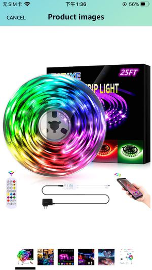 ZATAYE Led Lights Strip for Bedroom Decoration for Sale in Fall River, MA