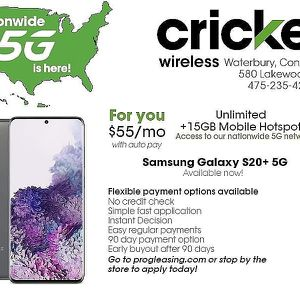 Samsung S20+ for Sale in Waterbury, CT