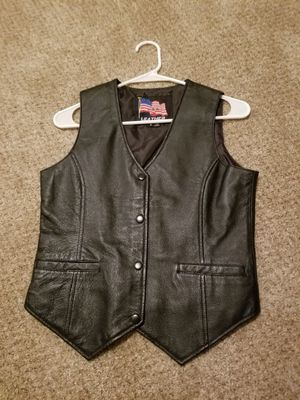 Motorcycle Vest - USA Leathers for Sale in Loveland, CO