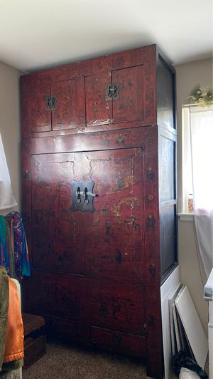 Antique Chinese Wardrobe / Dresser for Sale in Fresno, CA