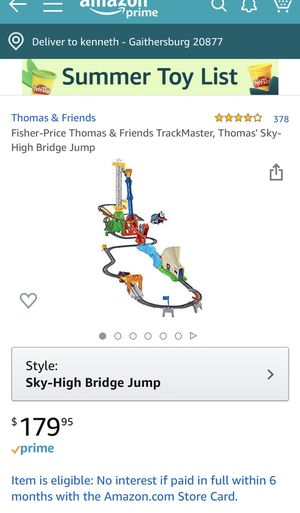 Thomas trackmaster sky-high track New In Box for Sale in Gaithersburg, MD